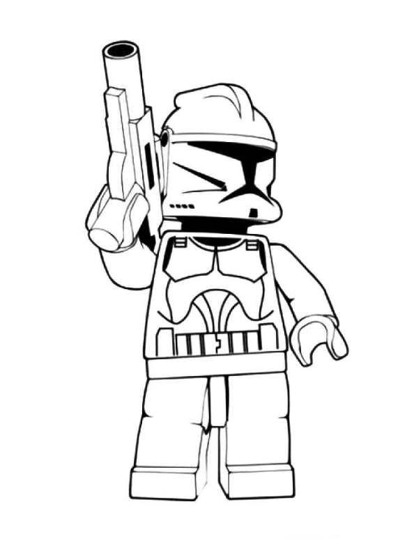 kidsnfun  coloring page lego star wars lego star wars