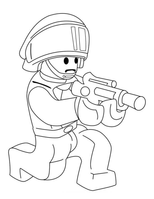 kidsnfun  create personal coloring page of lego