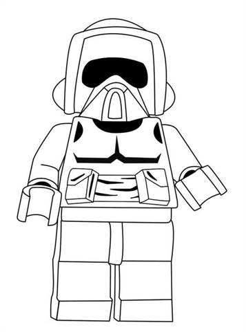 Star Wars Coloring Pages - Free Printable Star Wars Coloring Pages ... | 480x357