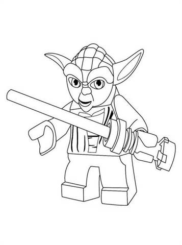 Kids N Fun Com 28 Coloring Pages Of Lego Star Wars