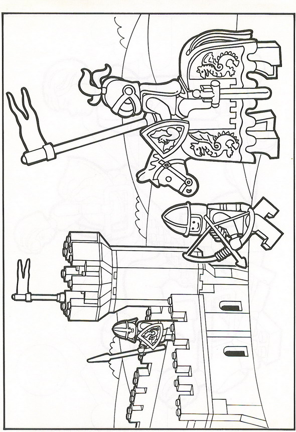 kidsnfun  42 coloring pages of lego