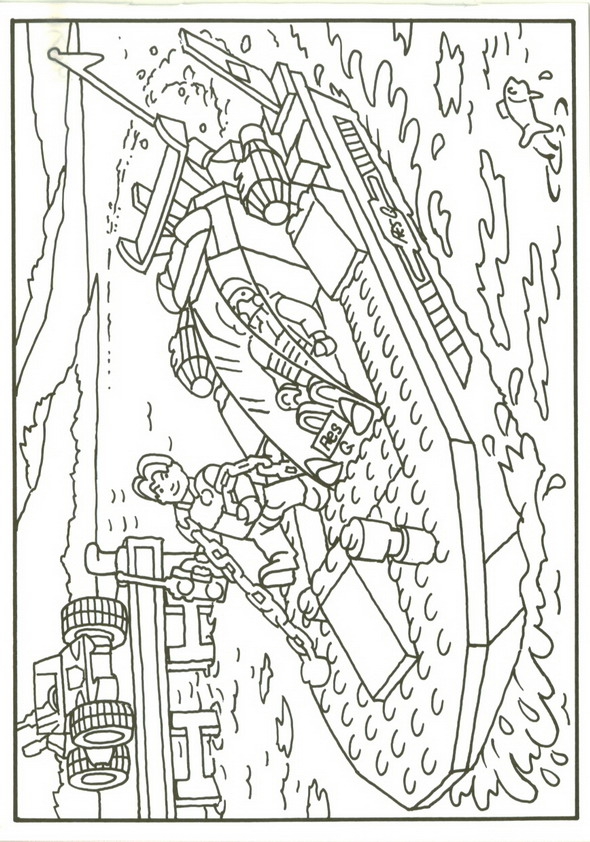 Kids N Fun Com 42 Coloring Pages Of Lego