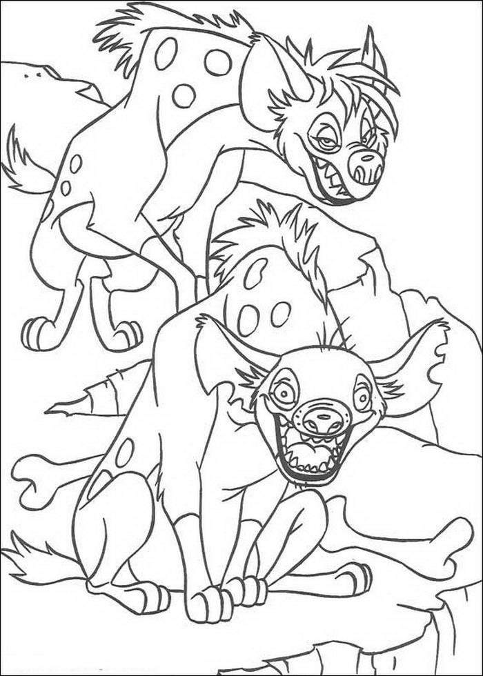 Kids n funcom 92 coloring pages of Lion King