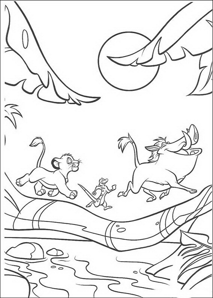 lion king - Lion King Coloring Book