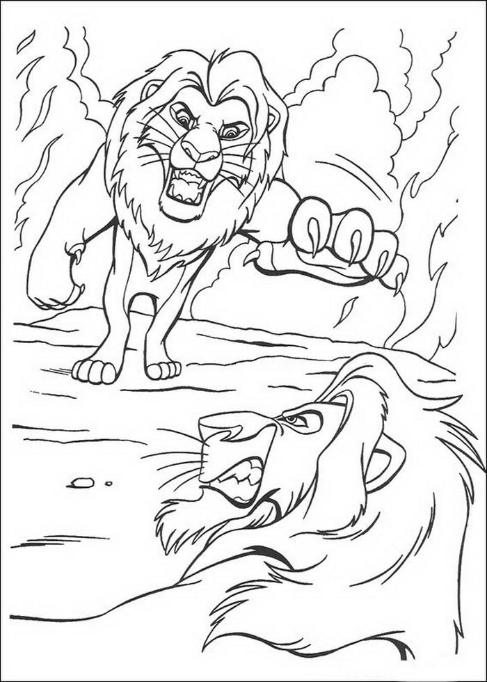 Kleurplaten Leeuwenkoning 2.Kids N Fun Com Coloring Page Lion King Lion King