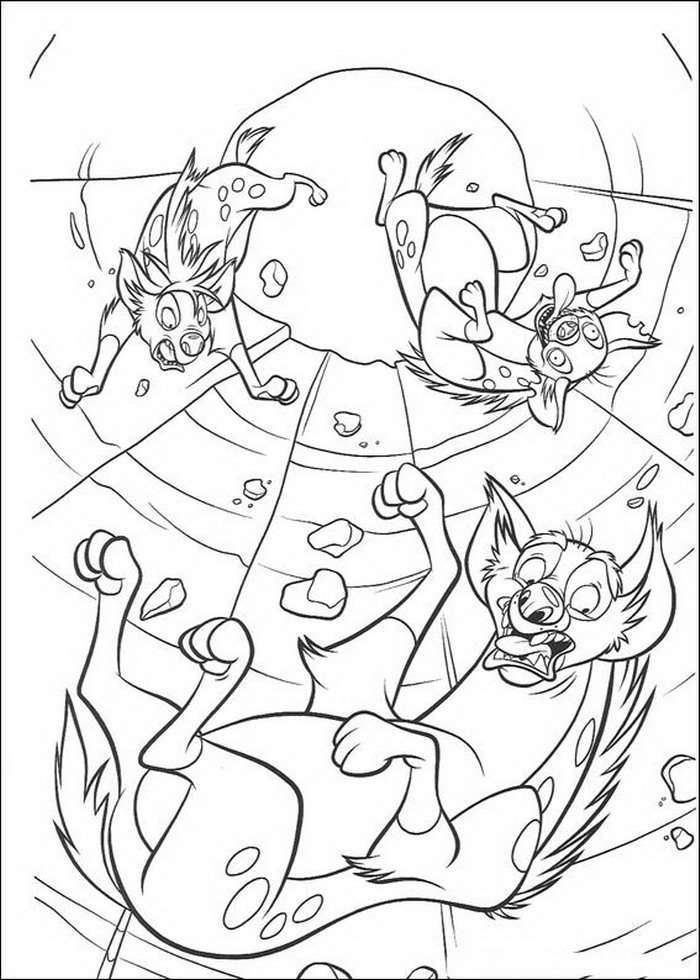 Kids-n-fun.com | 92 coloring pages of Lion King