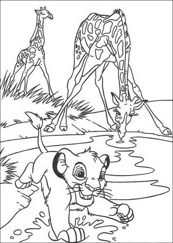 Kids N Fun Com 92 Coloring Pages Of Lion King