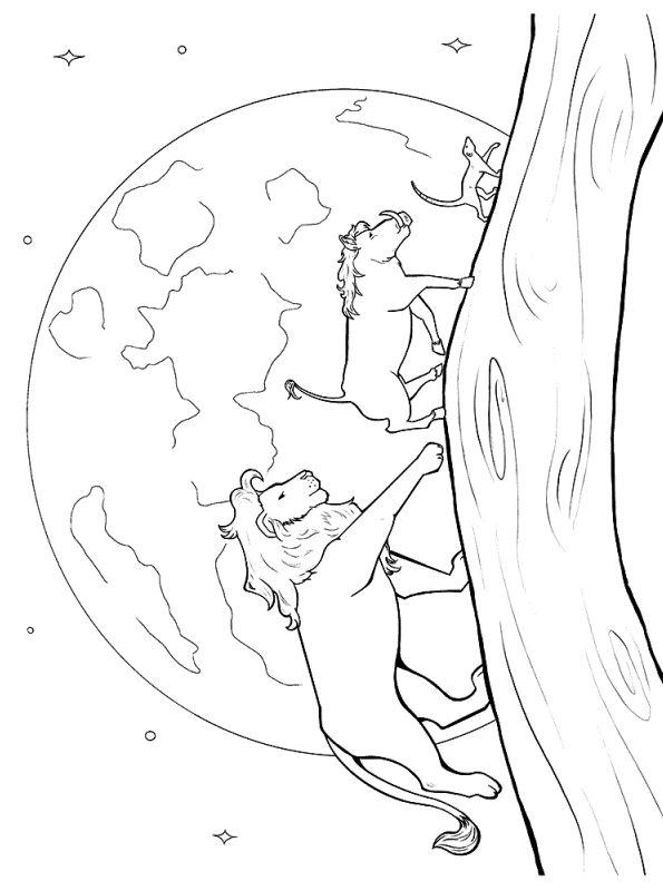 Kids-n-fun.com   Coloring page Lion KIng 2019 Rimon Pumbaa ...