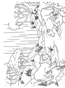 Walt Disney Coloring Pages - Scar - Walt Disney Characters Photo ... | 357x266