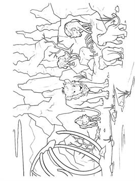 Kids-n-fun.com | 8 coloring pages of Lion KIng 2019