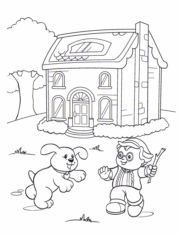 Kids-n-fun.com | 26 coloring pages of Little People