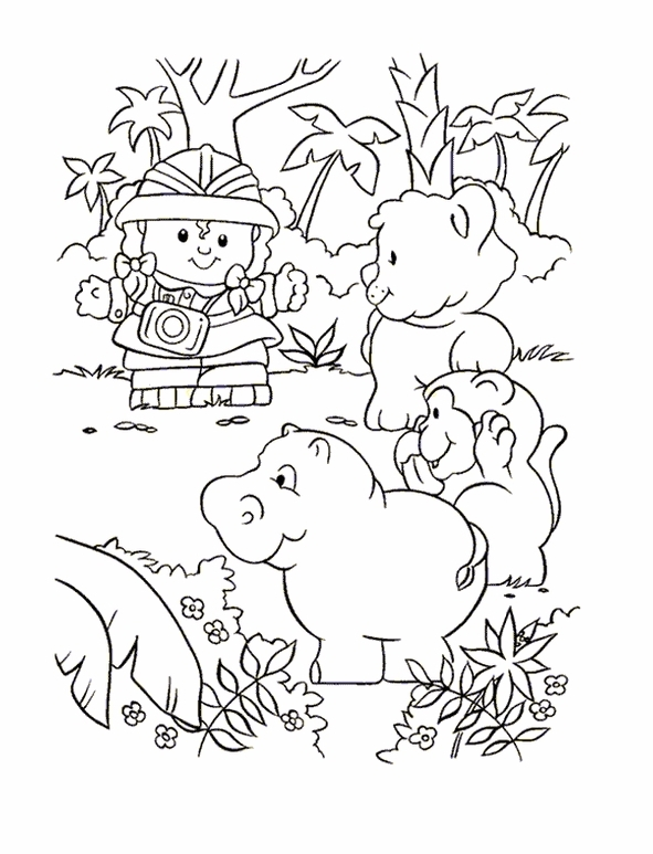 safari people coloring pages - photo#28