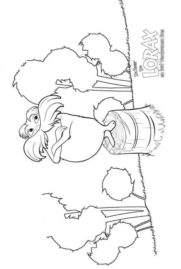 11 Coloring Pages Of Dr Seuss The Lorax