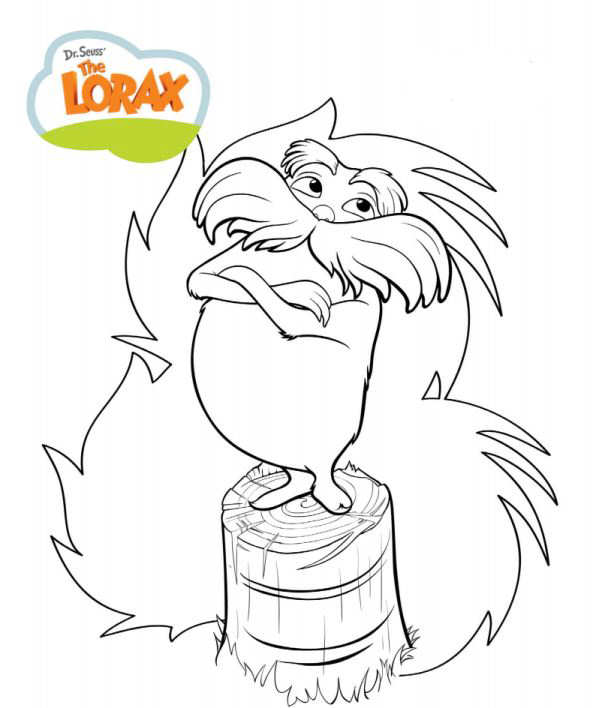wwwkids n funcouk dr seuss the lorax - Dr Seuss Coloring Pages Lorax