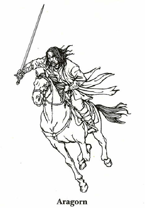Kids-n-fun.com | 13 coloring pages of Lord of the Rings