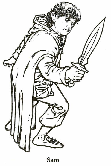 10 best printable lord of the rings coloring pages