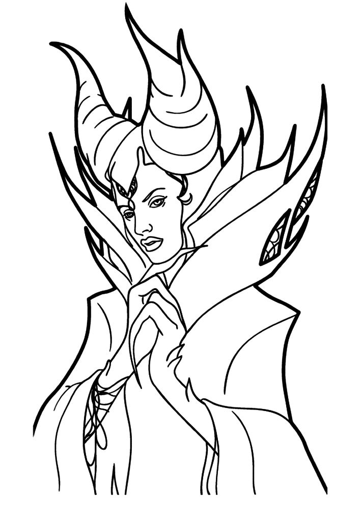 Kids N Fun Com 11 Coloring Pages Of Maleficent