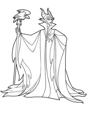 kids n fun com 11 coloring pages of maleficent kids n fun com 11 coloring pages of