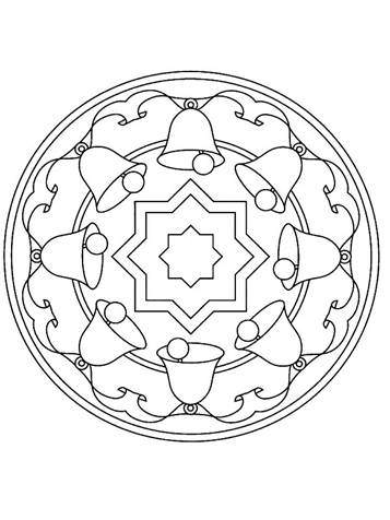 mandalas coloring pages - Clip Art Library | 476x357
