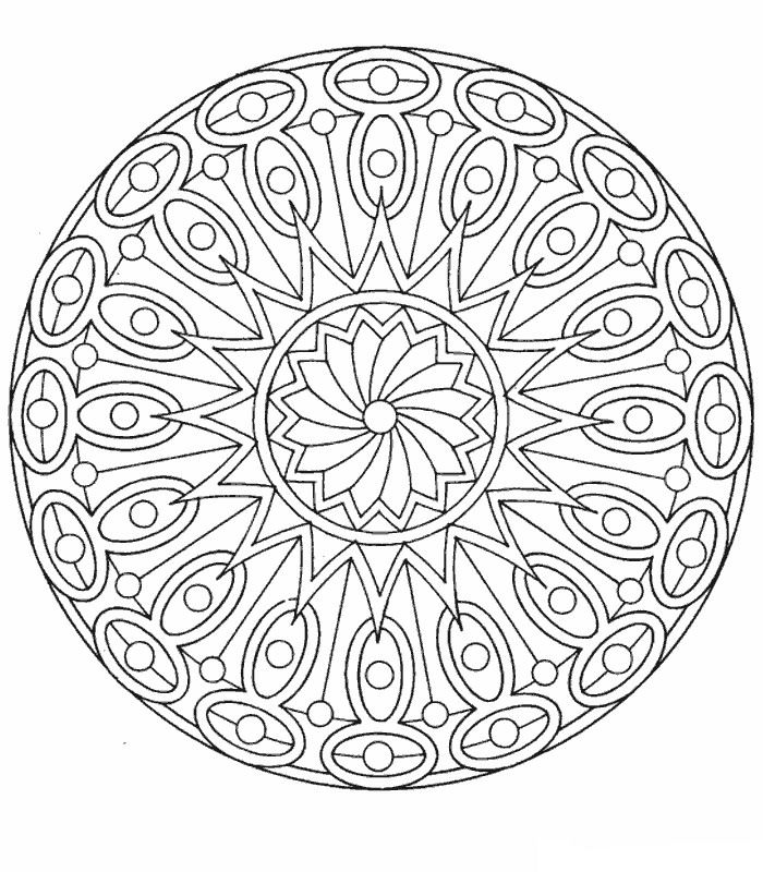 Kids-n-fun.com   39 coloring pages of Mandala