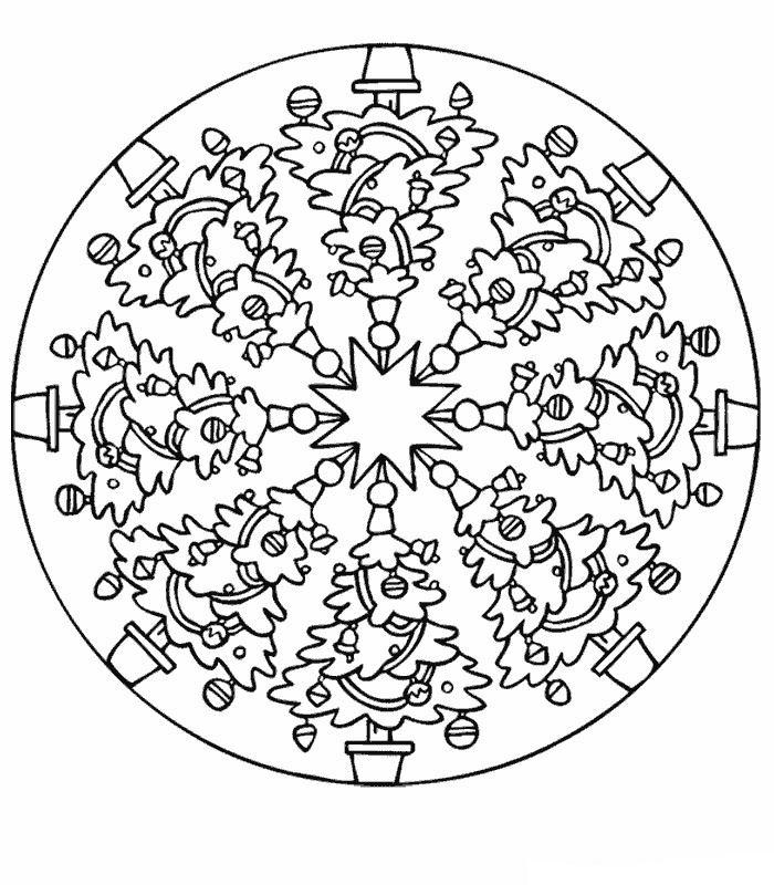 Kids-n-fun.com | 39 coloring pages of Mandala