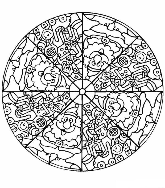 Kids N Fun Com 39 Coloring Pages Of Mandala