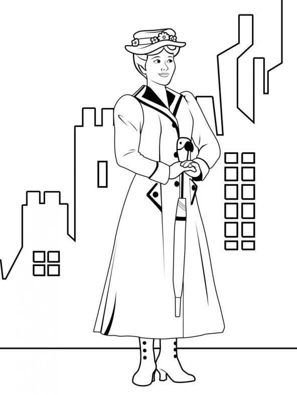 17 Mary Poppins Coloring Pages: Mary Poppins Characters Coloring Coloring Sheets At Alzheimers-prions.com