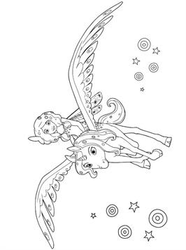Kids N Fun Com 29 Coloring Pages Of Mia And Me