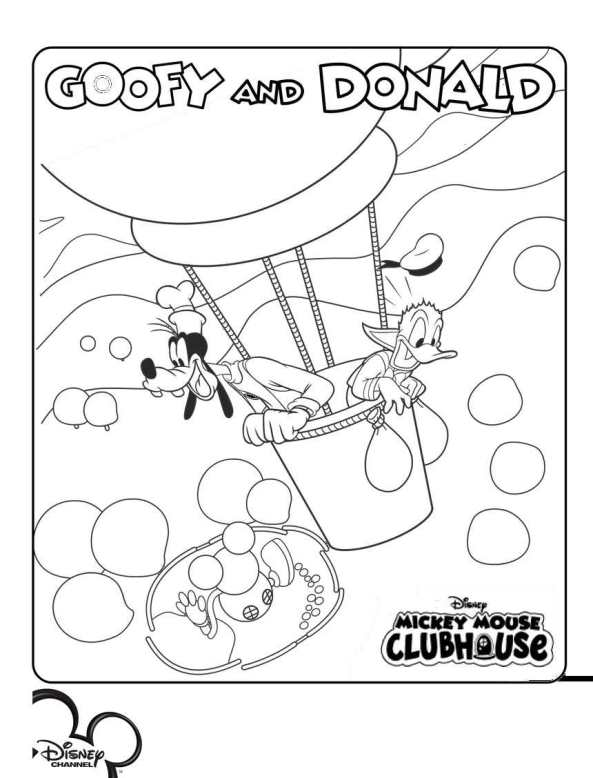 14 mickey mouse clubhouse coloring pages - Coloring Picture Of A Mouse