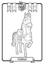 mike the knight coloring pages - kids n fun 6 coloring pages of mike the knight