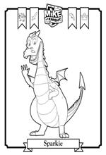 n 6 coloring pages of mike the