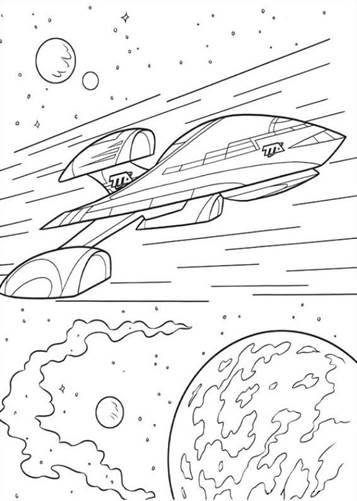 Kids N Fun Com 21 Coloring Pages Of Miles From Tomorrowland