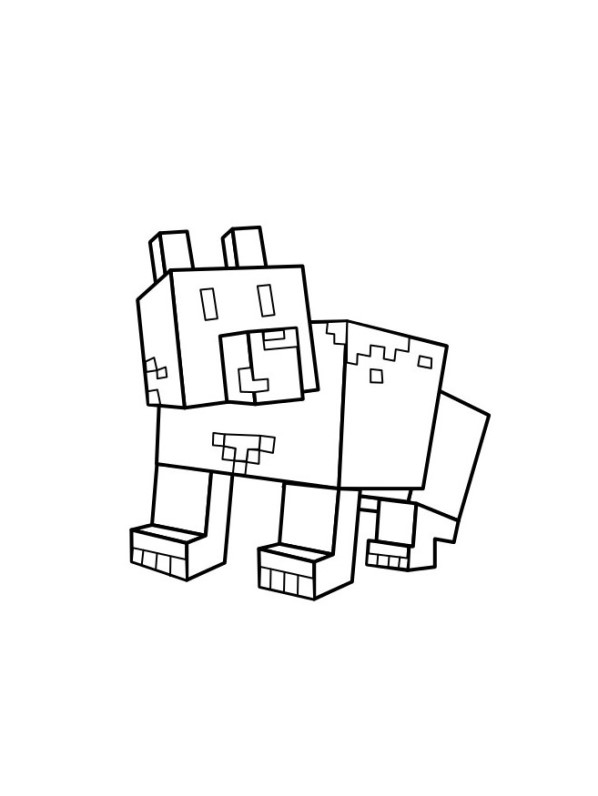 Kids N Fun Com 19 Coloring Pages Of Minecraft