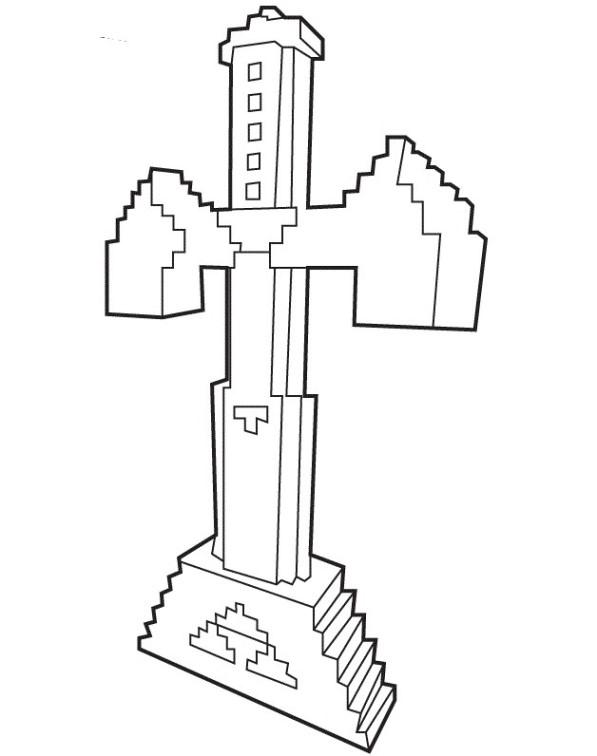 Kids N Fun Com Coloring Page Minecraft Minecraft