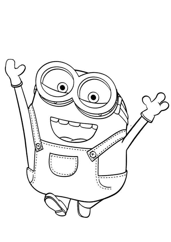 Kids N Fun Co Uk 36 Coloring Pages Of Minions