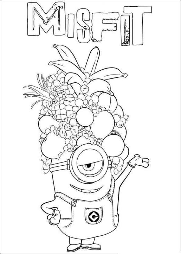 Kids N Fun Co Uk Coloring Page Minions Minions 24