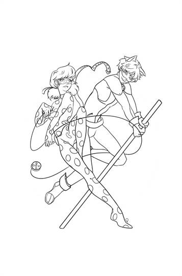 photo regarding Miraculous Ladybug Coloring Pages Printable known as  19 coloring web pages of Miraculous Stories of