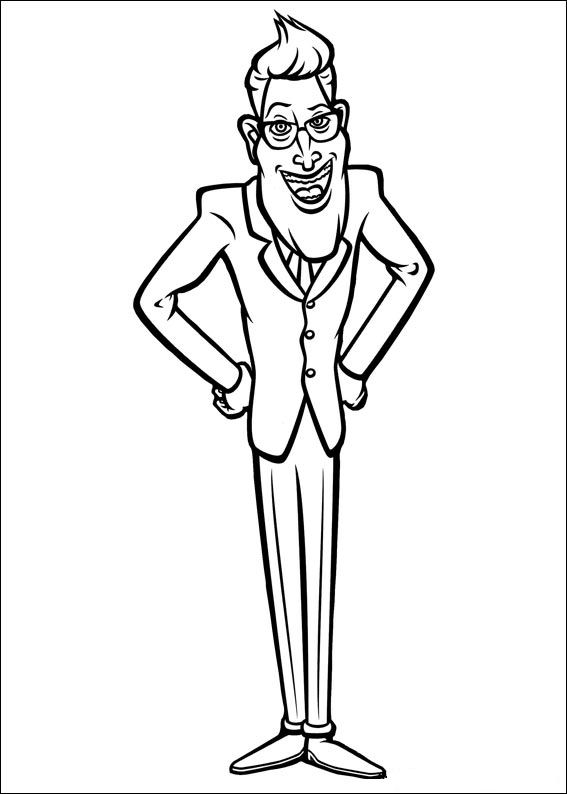 21 monsters vs aliens coloring pages