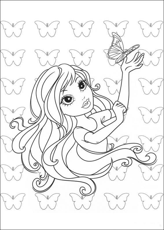 Kids N Fun Com 11 Coloring Pages Of Moxie Girlz