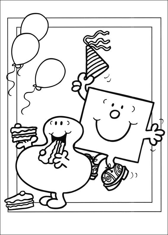 Kids N Fun Co Uk 58 Coloring Pages Of Mr Men And Litltle Miss