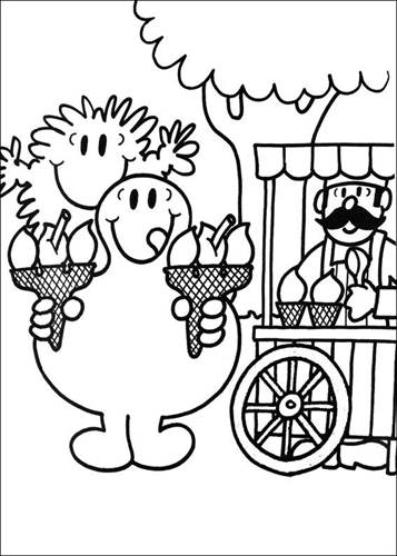 Kids N Fun Com 58 Coloring Pages Of Mr Men And Litltle Miss