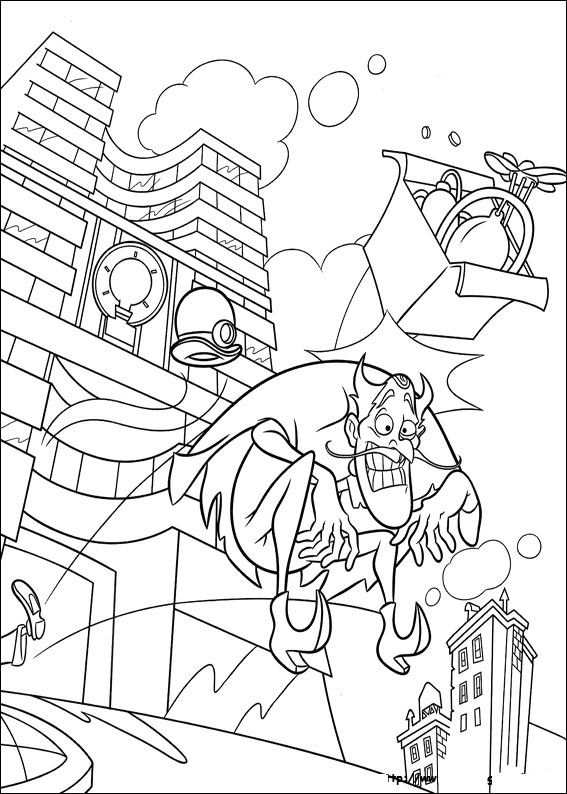 Kidsnfun 39 coloring pages of Meet the Robinsons