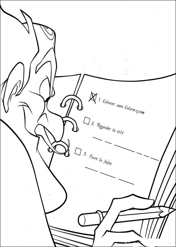 Kids N Fun Com 39 Coloring Pages Of Meet The Robinsons