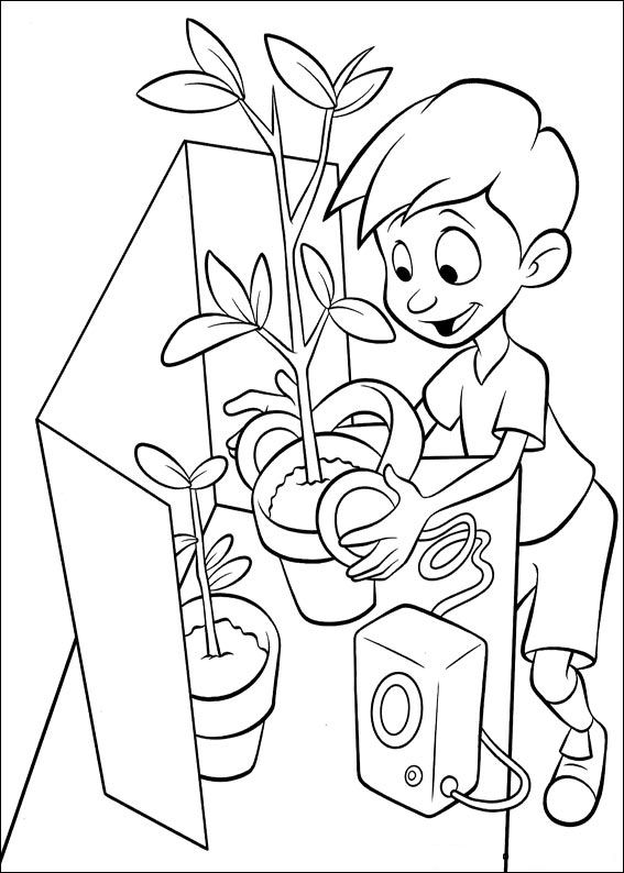 Kids-n-fun.com | 39 coloring pages of Meet the Robinsons