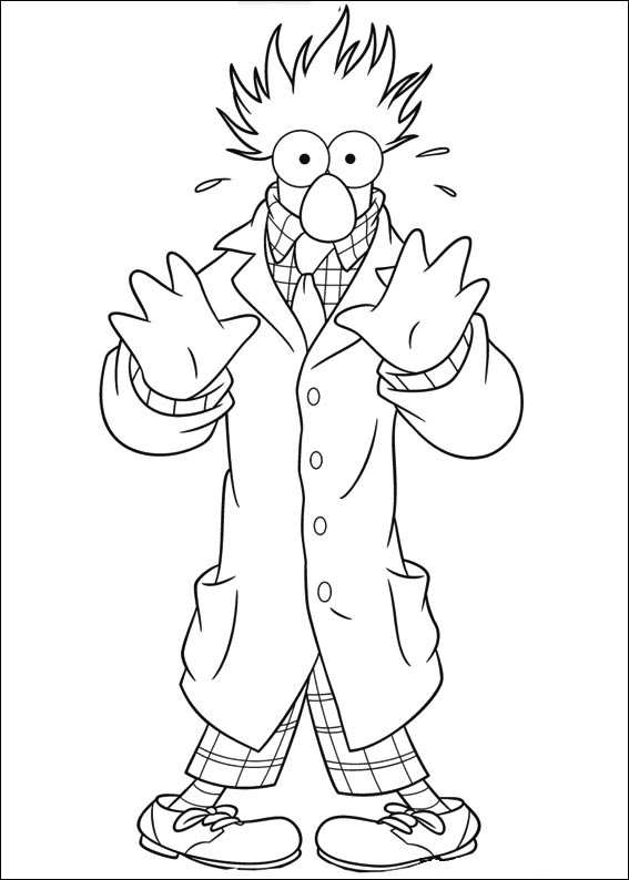 Kids-n-fun.com | 25 coloring pages of Muppets