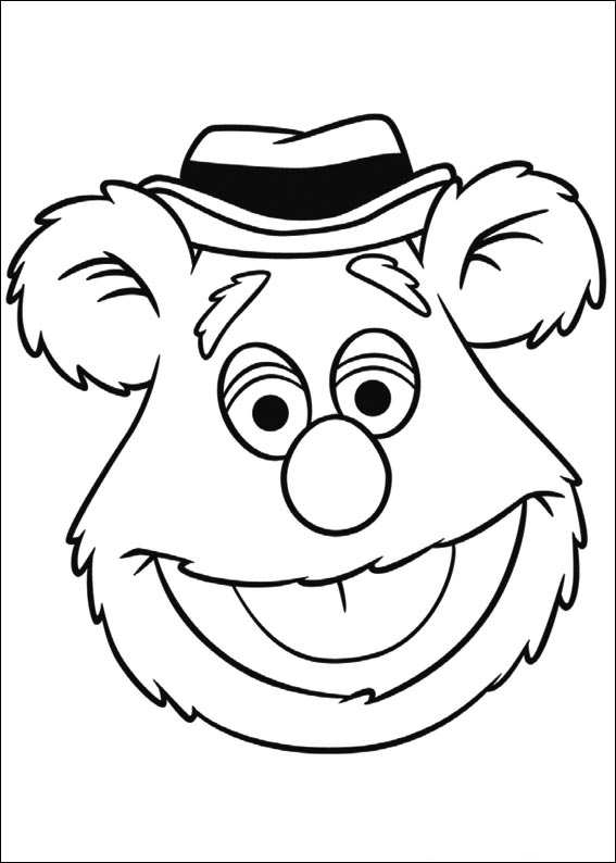 miss piggy coloring pages muppets - photo#15