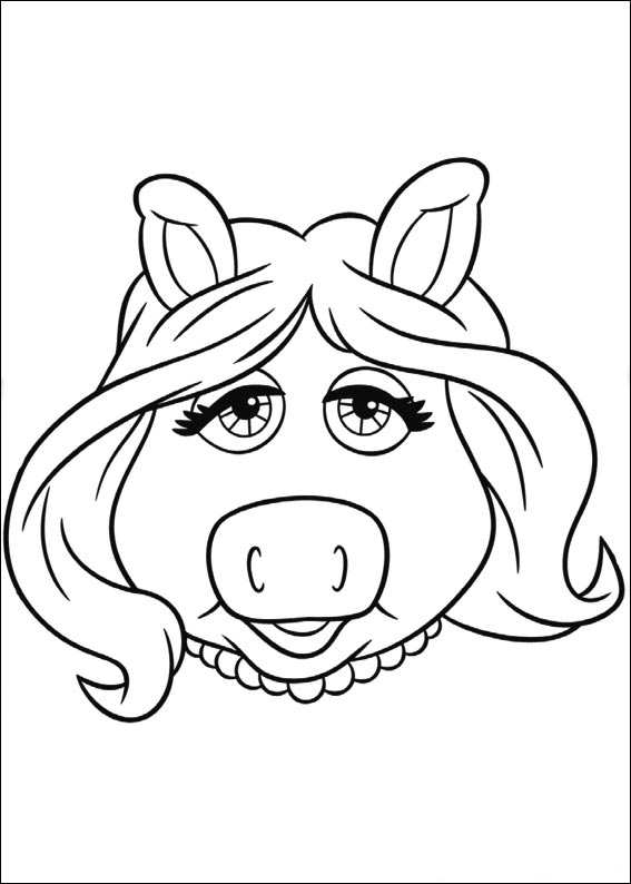 Kids N Fun Com 25 Coloring Pages Of Muppets