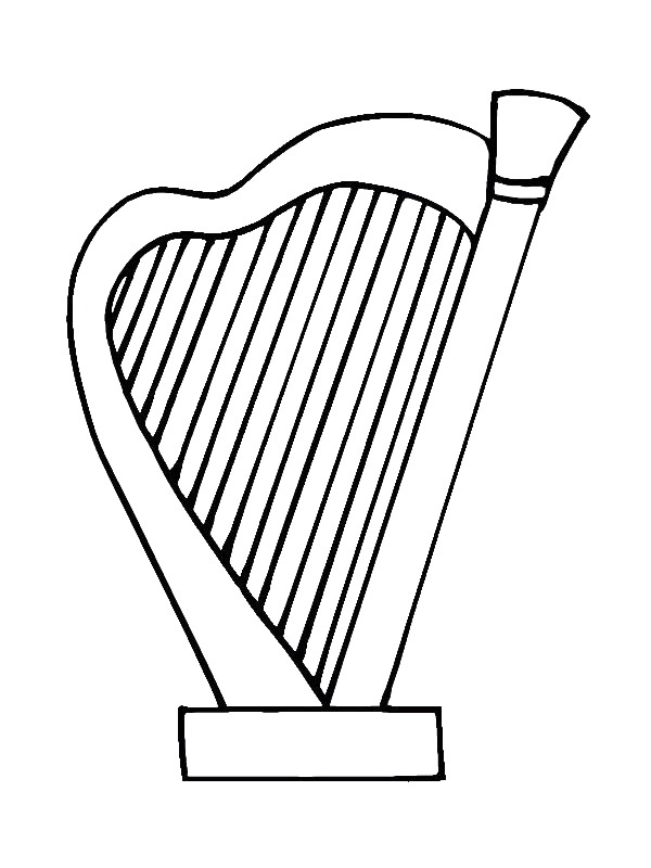 It's just an image of Shocking Musical Instruments Coloring Pages