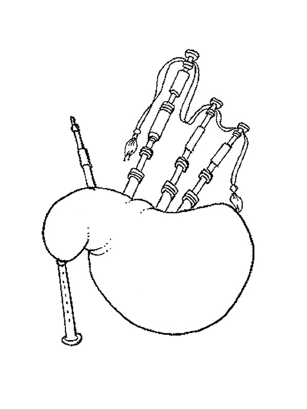 Kids-n-fun.com | 62 coloring pages of Musical Instruments