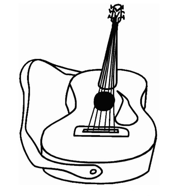 trombone coloring pages - photo#33